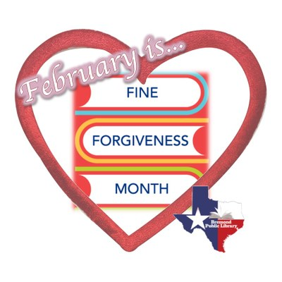 Fine Forgiveness Month!!